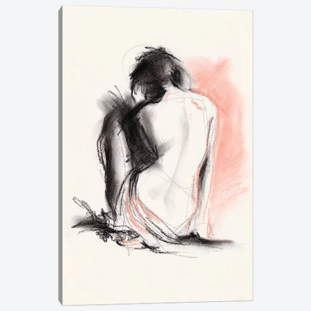 Figure Gesture IV Canvas Print #JPP298} by Jennifer Paxton Parker Art Print