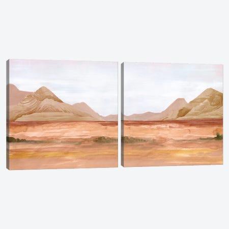 Desert Formation Diptych Canvas Print Set #JPP2HSET005} by Jennifer Paxton Parker Art Print