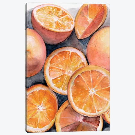 Fruit Slices III Canvas Print #JPP303} by Jennifer Paxton Parker Canvas Art Print