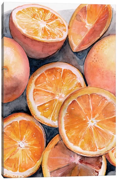 Fruit Slices III Canvas Art Print