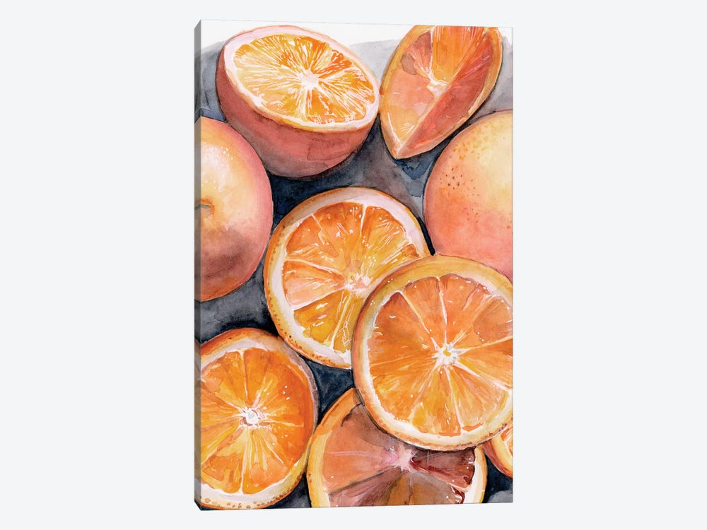 Fruit Slices III by Jennifer Paxton Parker 1-piece Canvas Print