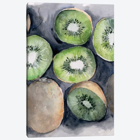 Fruit Slices IV Canvas Print #JPP304} by Jennifer Paxton Parker Canvas Artwork