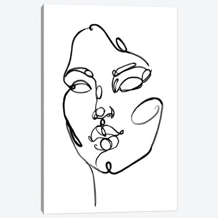 Linear Thoughts I Canvas Print #JPP307} by Jennifer Paxton Parker Canvas Wall Art