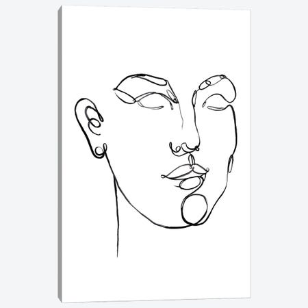 Linear Thoughts II Canvas Print #JPP308} by Jennifer Paxton Parker Art Print