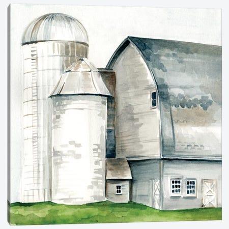 Watercolor Barn II Canvas Print #JPP30} by Jennifer Paxton Parker Canvas Artwork