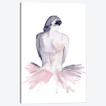 Pale Pink Tulle I Canvas Print #JPP311} by Jennifer Paxton Parker Canvas Art