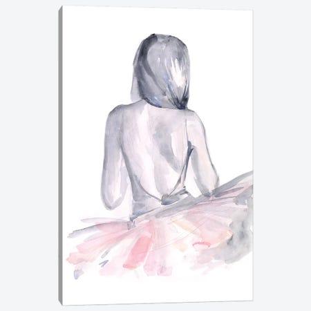 Pale Pink Tulle II 3-Piece Canvas #JPP312} by Jennifer Paxton Parker Canvas Artwork