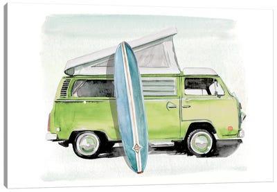 Surf Wagon I Canvas Art Print