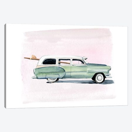 Surf Wagon III Canvas Print #JPP325} by Jennifer Paxton Parker Canvas Wall Art