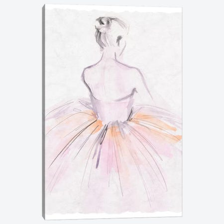 Watercolor Ballerina II Canvas Print #JPP340} by Jennifer Paxton Parker Canvas Print