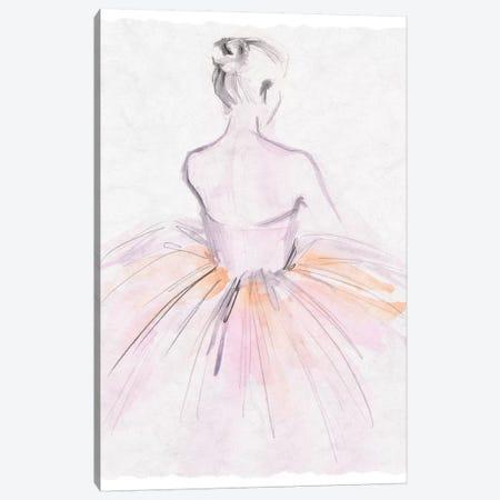 Watercolor Ballerina II Canvas Print #JPP340} by Jennifer Paxton Parker Canvas Print