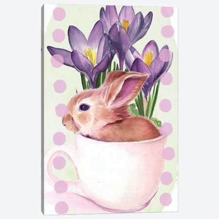 Bunny Crossing Collection B Canvas Print #JPP343} by Jennifer Paxton Parker Canvas Art Print
