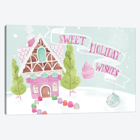Candy Christmas Collection A Canvas Print #JPP348} by Jennifer Paxton Parker Canvas Art Print