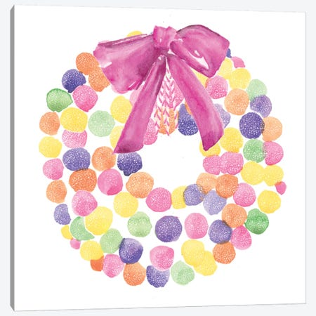 Candy Christmas Collection C Canvas Print #JPP350} by Jennifer Paxton Parker Canvas Wall Art