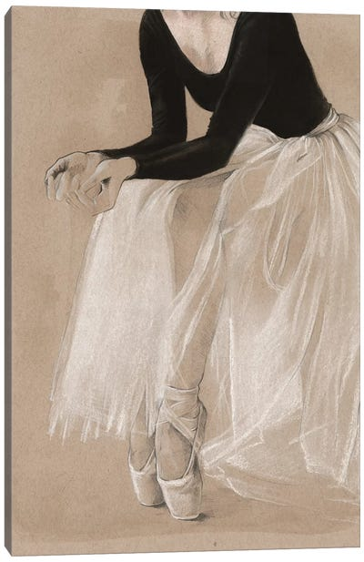 Ballet Study I Canvas Art Print