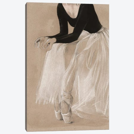 Ballet Study I Canvas Print #JPP35} by Jennifer Paxton Parker Canvas Print