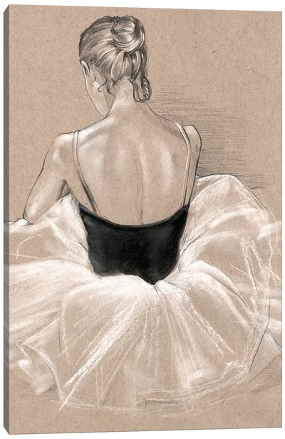 Ballet Study II Canvas Art Print