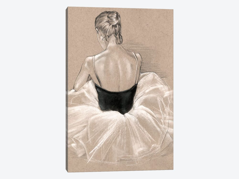 Ballet Study II by Jennifer Paxton Parker 1-piece Canvas Art Print