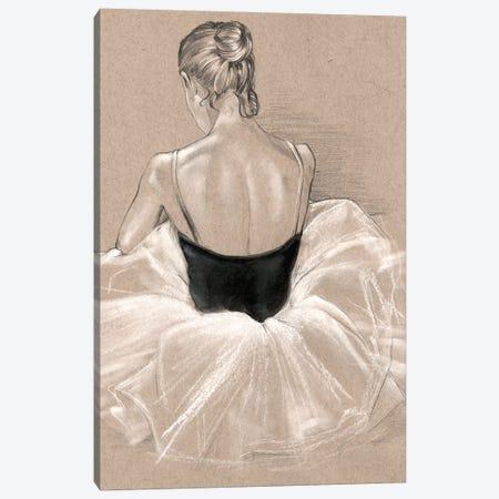 Ballet Study II 3-Piece Canvas #JPP36} by Jennifer Paxton Parker Art Print