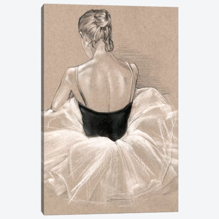 Ballet Study II Canvas Print #JPP36} by Jennifer Paxton Parker Art Print