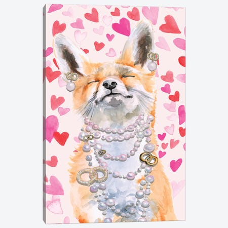 Cute Couture Collection B Canvas Print #JPP370} by Jennifer Paxton Parker Canvas Wall Art