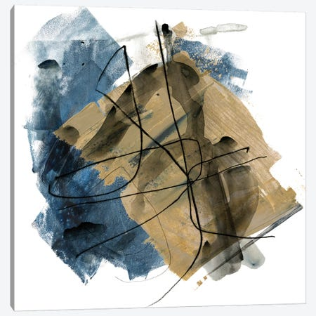 Blue Crew I 3-Piece Canvas #JPP37} by Jennifer Paxton Parker Canvas Art Print