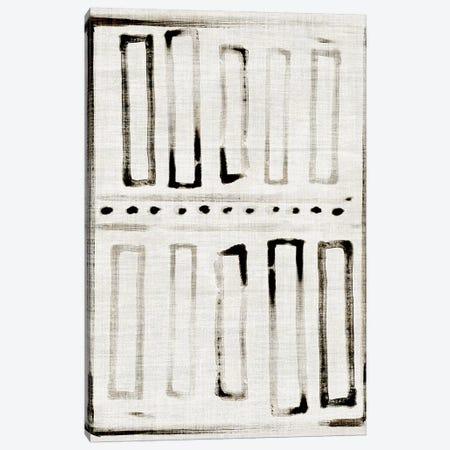 Batik Block Flag I Canvas Print #JPP381} by Jennifer Paxton Parker Canvas Print