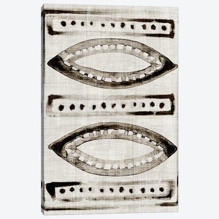 Batik Block Flag II Canvas Print #JPP382} by Jennifer Paxton Parker Art Print