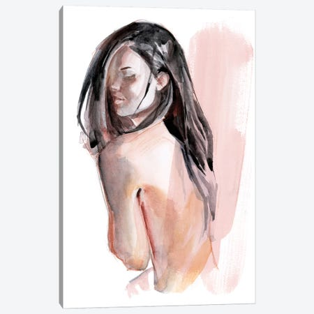 Cold Shoulders II Canvas Print #JPP386} by Jennifer Paxton Parker Canvas Art