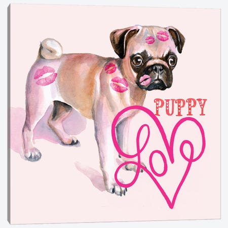Cute Couture III Canvas Print #JPP390} by Jennifer Paxton Parker Canvas Art