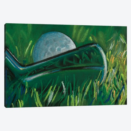 Tee Time I Canvas Print #JPP414} by Jennifer Paxton Parker Canvas Wall Art