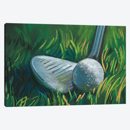 Tee Time II Canvas Print #JPP415} by Jennifer Paxton Parker Canvas Artwork