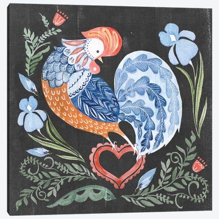 Welcome Folk Garden I Canvas Print #JPP418} by Jennifer Paxton Parker Canvas Art Print