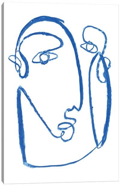 Blue Self II Canvas Art Print