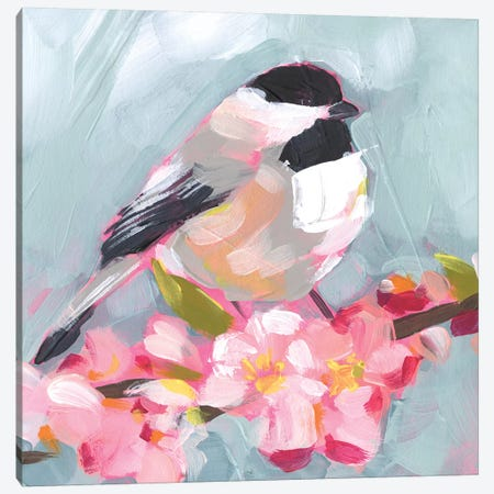 Brushstroke Bird II Canvas Print #JPP425} by Jennifer Paxton Parker Canvas Art Print