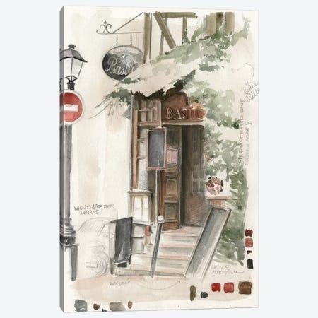 Café Study I Canvas Print #JPP43} by Jennifer Paxton Parker Canvas Print
