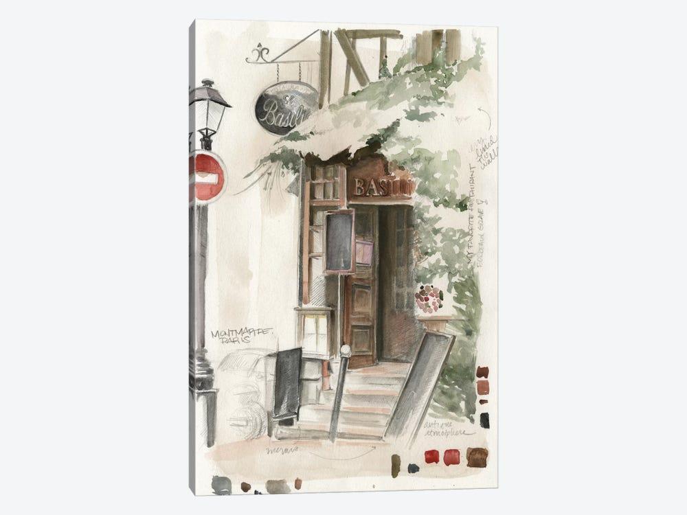 Café Study I by Jennifer Paxton Parker 1-piece Canvas Art Print