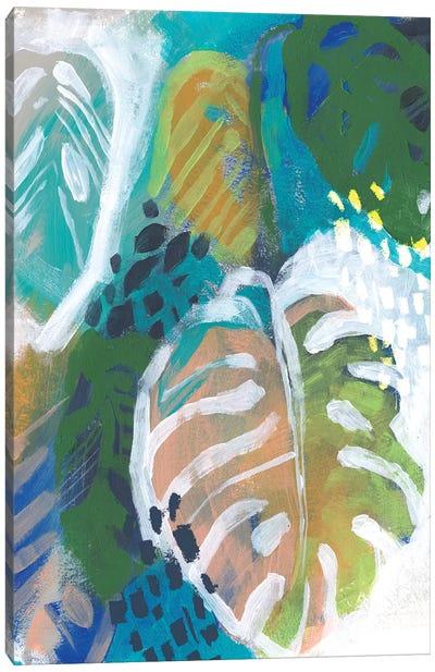 Hazy Jungle I Canvas Art Print