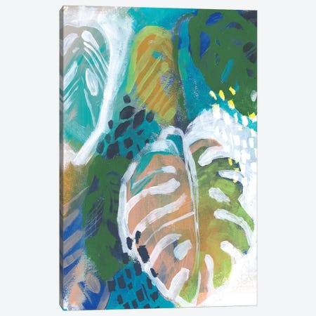 Hazy Jungle I Canvas Print #JPP440} by Jennifer Paxton Parker Canvas Artwork