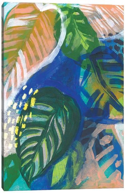 Hazy Jungle II Canvas Art Print