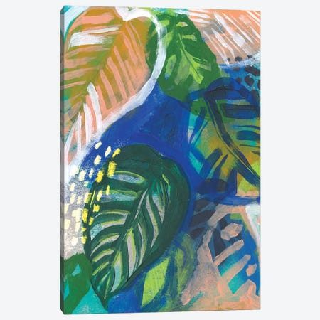 Hazy Jungle II Canvas Print #JPP441} by Jennifer Paxton Parker Canvas Art