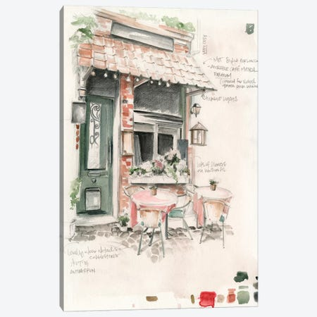 Café Study II Canvas Print #JPP44} by Jennifer Paxton Parker Canvas Wall Art