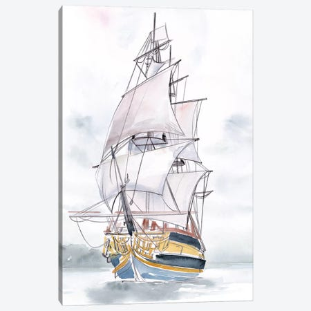 Tall Ship II Canvas Print #JPP461} by Jennifer Paxton Parker Canvas Art