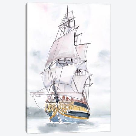 Tall Ship II Canvas Print #JPP461} by Jennifer Paxton Parker Canvas Art