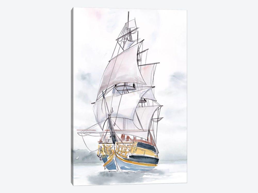 Tall Ship II by Jennifer Paxton Parker 1-piece Canvas Wall Art