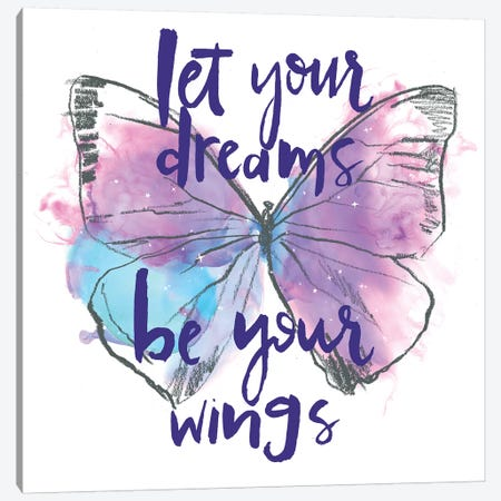 Butterfly Dreams I Canvas Print #JPP462} by Jennifer Paxton Parker Canvas Wall Art