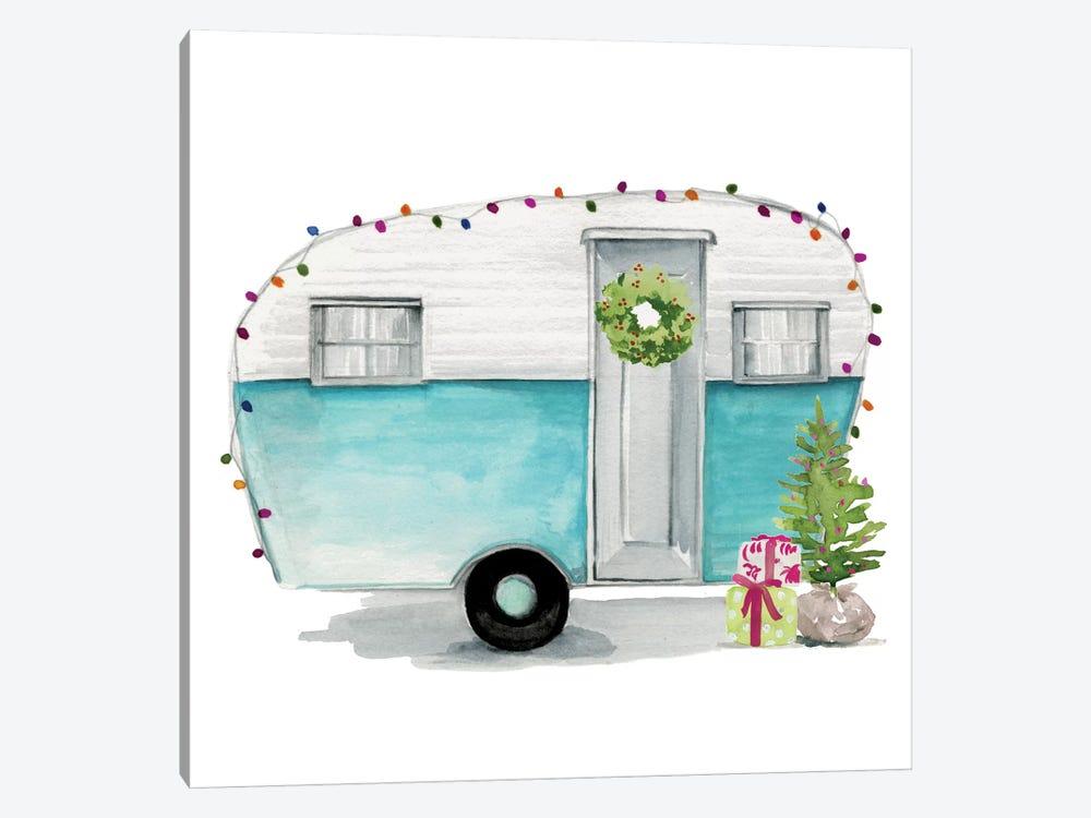 Christmas Cars II by Jennifer Paxton Parker 1-piece Canvas Art