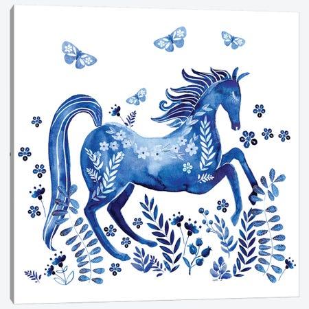 Run Wild & Free I Canvas Print #JPP480} by Jennifer Paxton Parker Canvas Wall Art