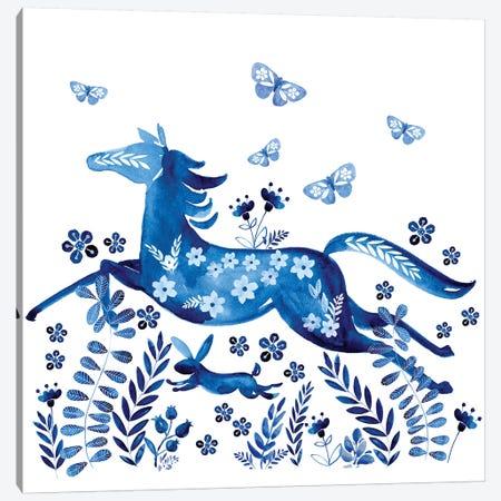 Run Wild & Free II Canvas Print #JPP481} by Jennifer Paxton Parker Canvas Wall Art