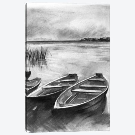 Bateau Noir I Canvas Print #JPP484} by Jennifer Paxton Parker Canvas Print